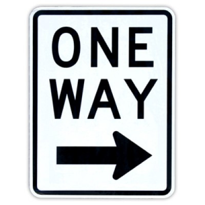 One Way Street Clipart.