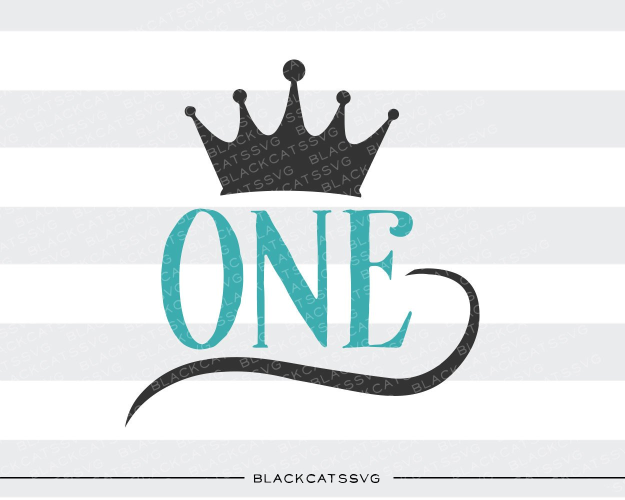 One crown SVG file Cutting File Clipart in Svg, Eps, Dxf, Png for Cricut &  Silhouette.