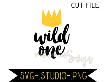 Wild One Crown Clipart.