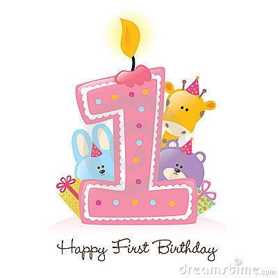 One Year Old Clipart