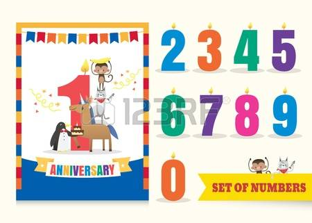 9,818 One Year Stock Illustrations, Cliparts And Royalty Free One.
