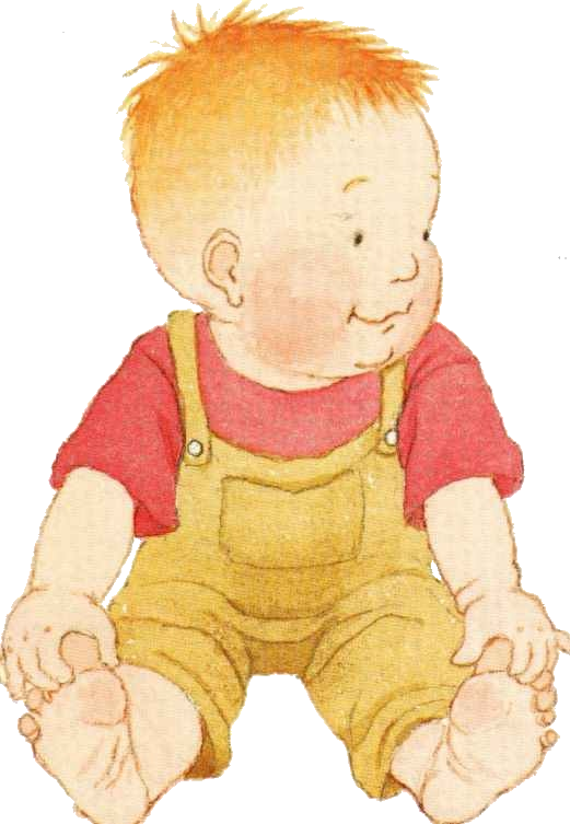One Year Old Kids Clipart.