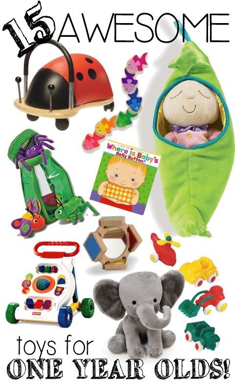 One Year Old Gift Ideas Presents For Birthdays Or Christmas