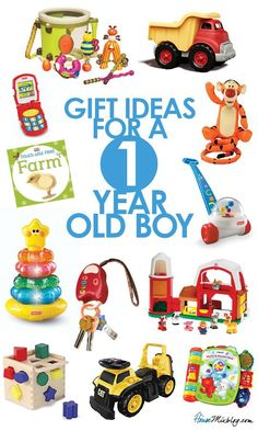 Top Toys for a One Year Old.
