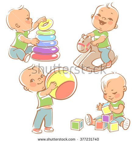 One Year Old Kids Clipart Clipground