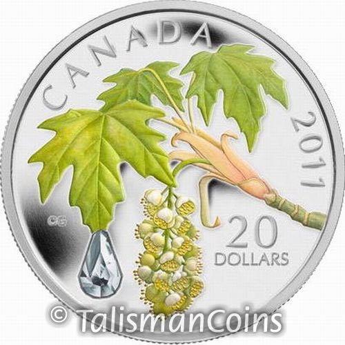 Canada 2011 Crystal Raindrop #4.