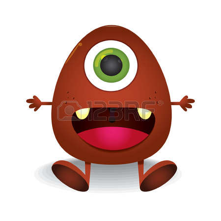 95 One Eyed Monster Stock Illustrations, Cliparts And Royalty Free.