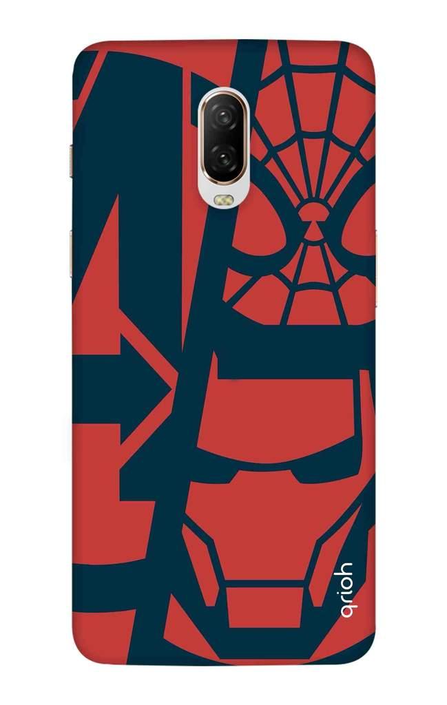 Superhero Clip Art Case for OnePlus 6T.