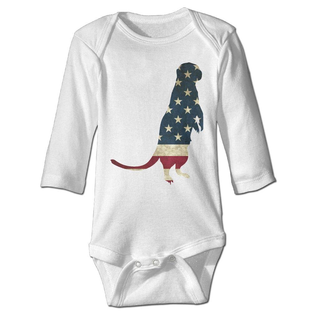 Amazon.com: Infant Baby\'s Long Sleeve Romper Bodysuit Otter.