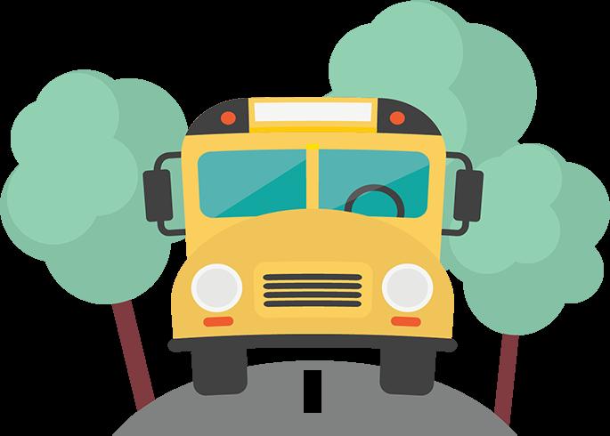 Red School Bus Clipart Png Download Onibus Desenho.