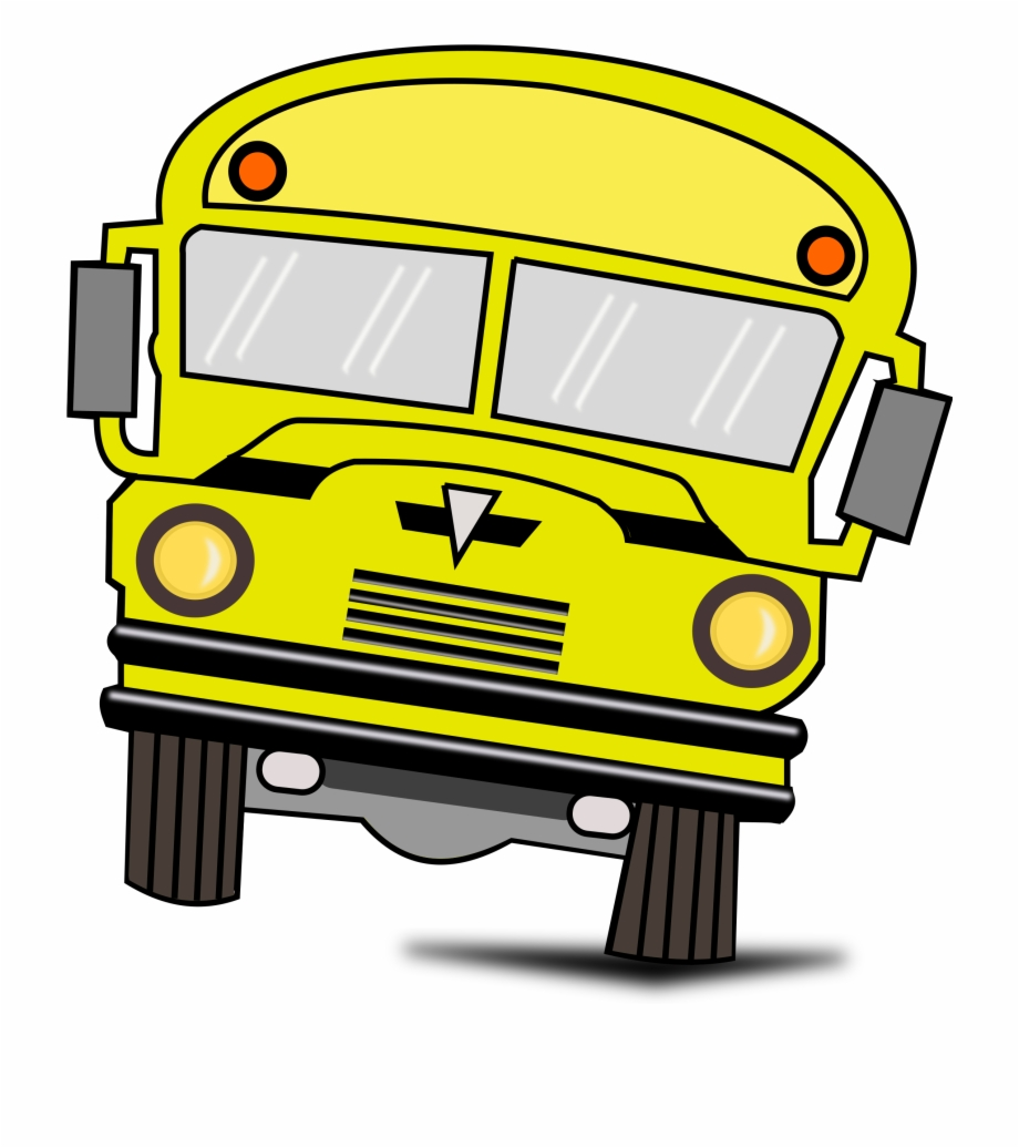 Red School Bus Clipart , Png Download.