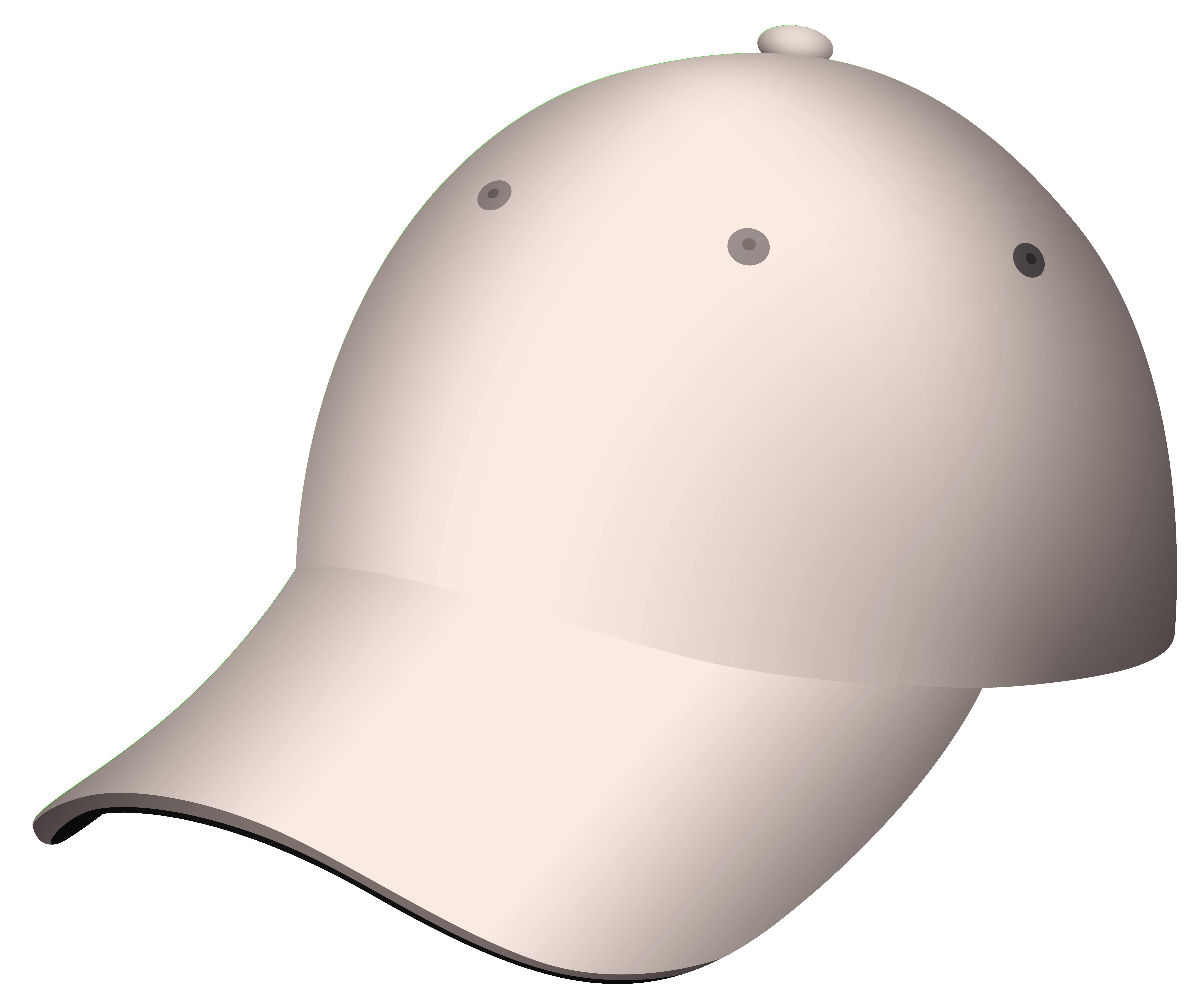 Beige Cap PNG Clipart.