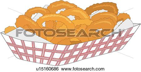 Onion rings Clip Art EPS Images. 18,376 onion rings clipart vector.