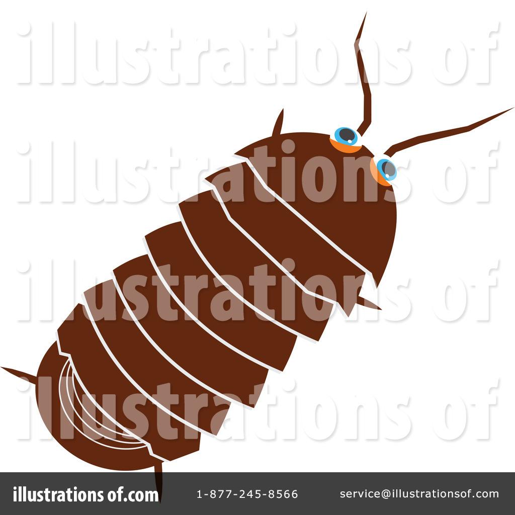 Pillbug Clipart #41541.