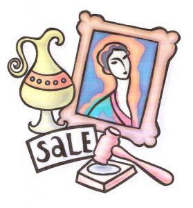 Online Auction Clip Art.