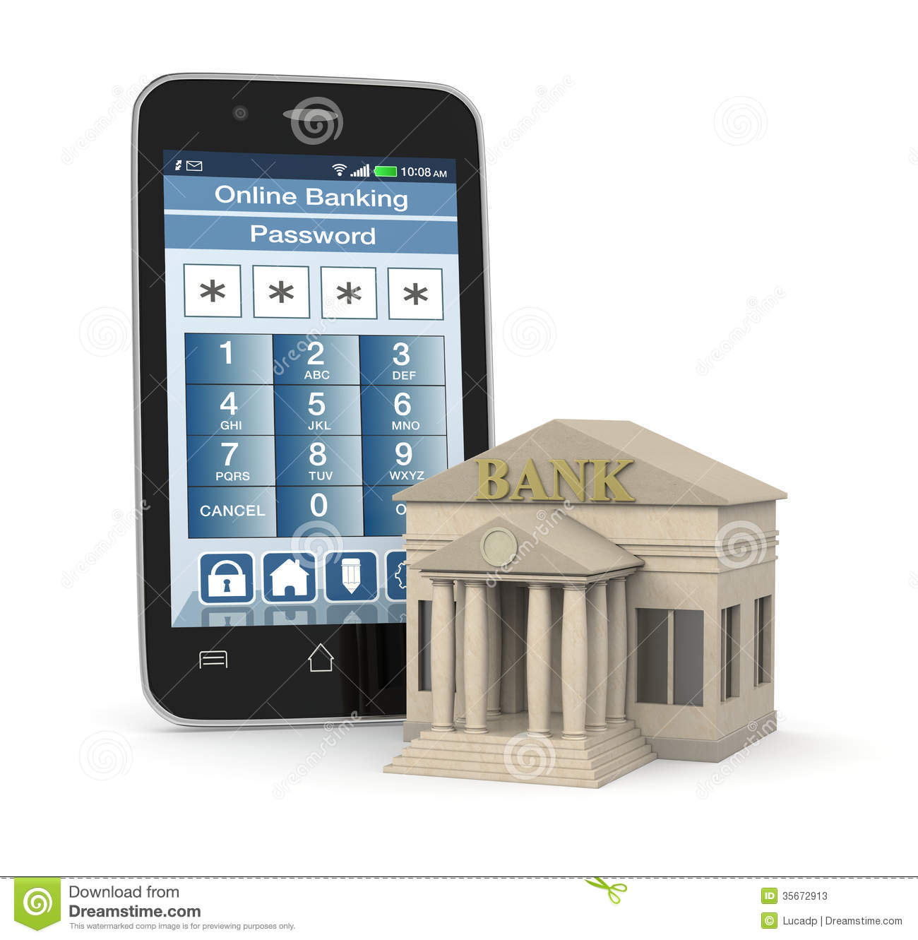 Online Banking Stock Photos.
