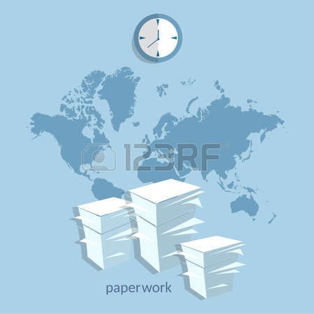 Office Exchange Stock Vector Illustration And Royalty Free Office.