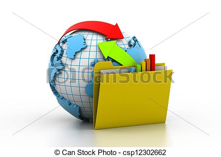 Stock Illustration of Online exchange csp12302662.