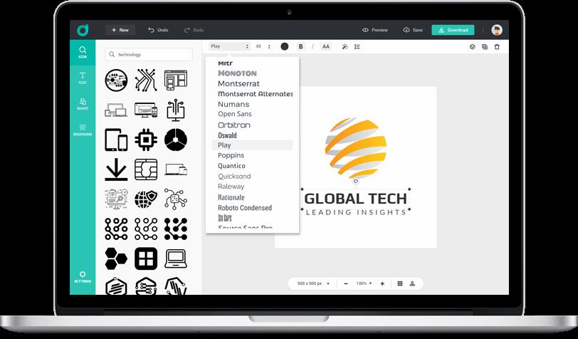 Free Online Logo Maker.