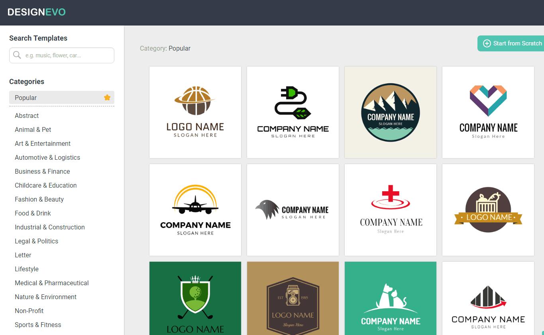 DesignEvo Review: Best Free Online Logo Maker.