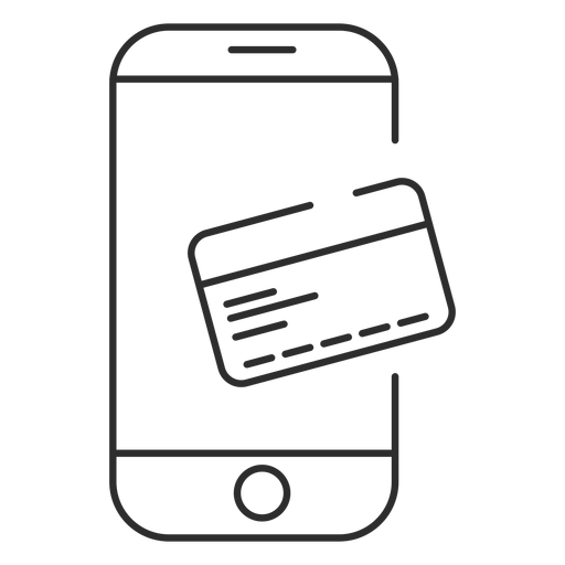 Online payment icon.
