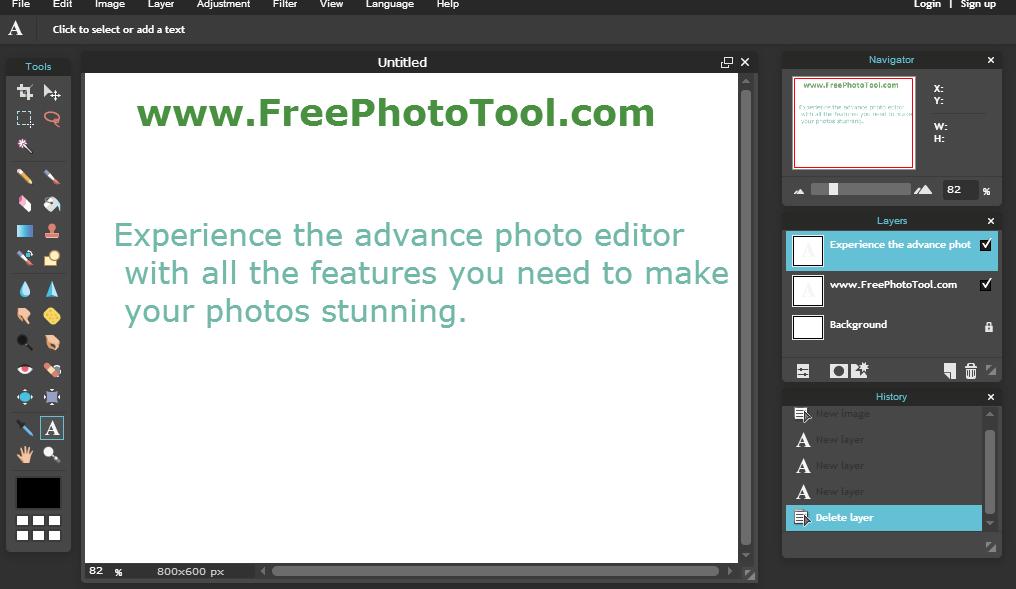 Free Online Photoshop!.