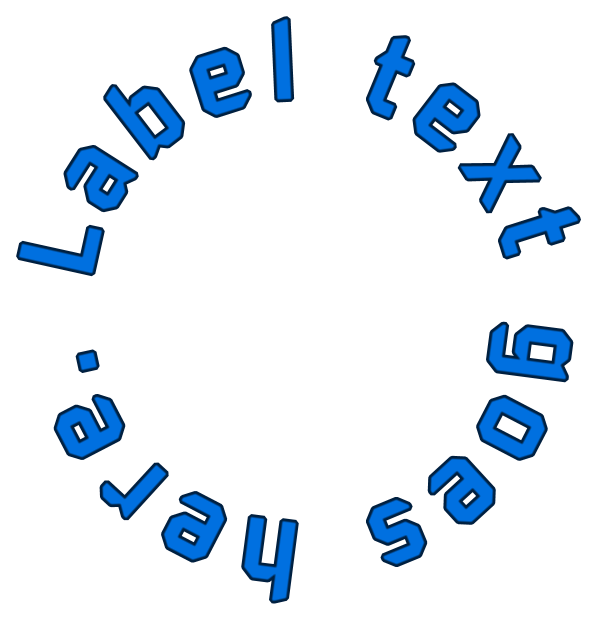 Text Effect Tutorials: How to create transparent text labels.
