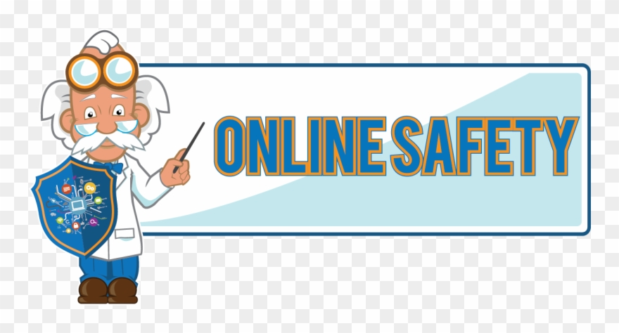 Online Safety Clipart (#4070653).