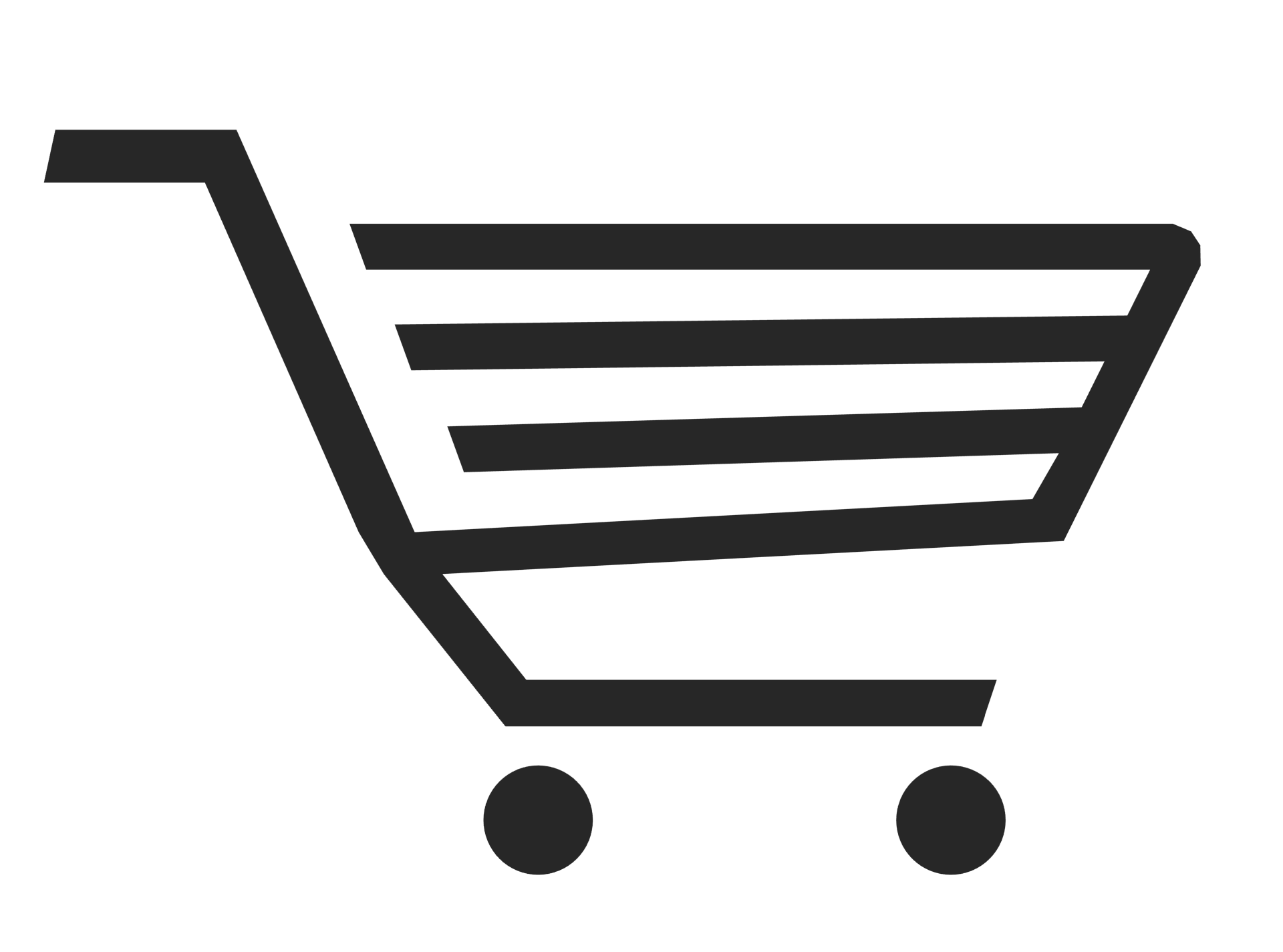 Online Shopping Cart PNG Free Commercial Use Image.
