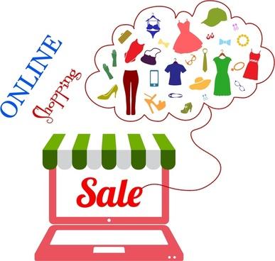 Online shop logo free vector download (69,751 Free vector.