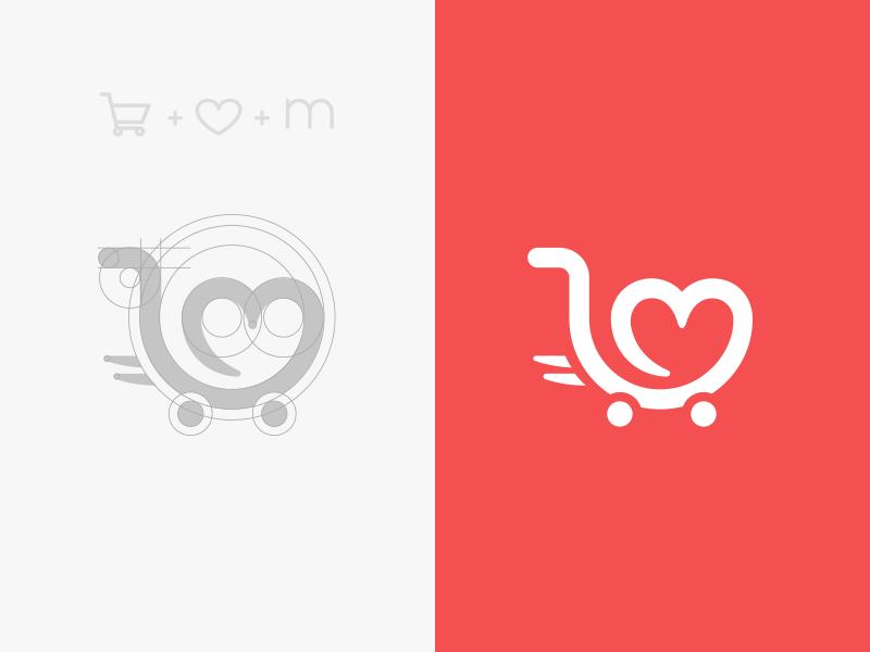 Logo Mark for online fashion store.
