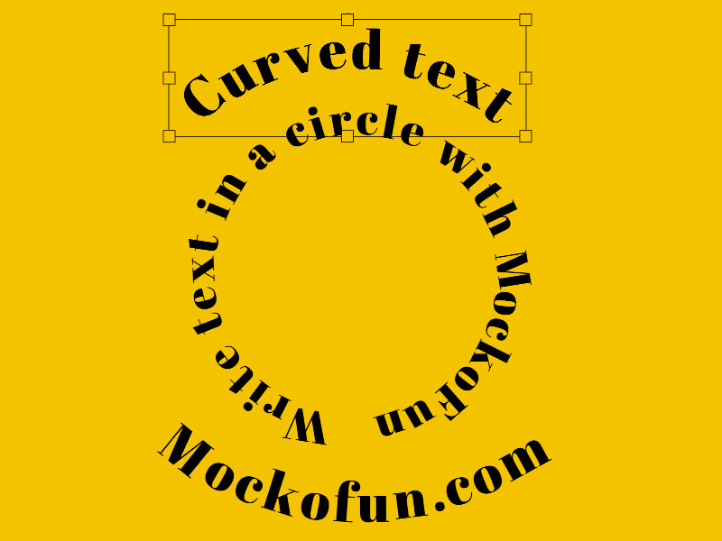 Curved Text Generator: How To Make Curved Text Online.