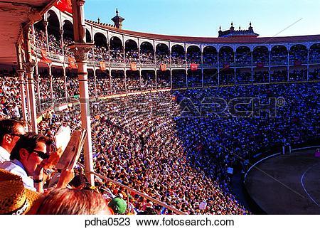Stock Photo of spectator, audience, sightseer, tourist, visitor.