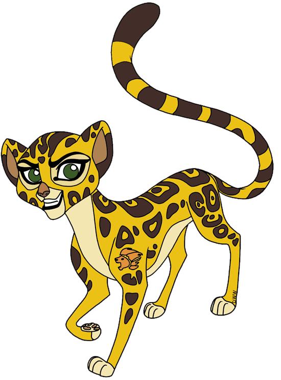 The Lion Guard Clip Art Images.