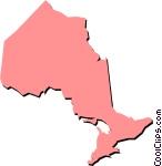 Ontario Vector Clip art.
