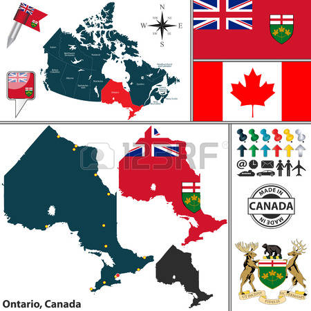 1,091 Ontario Stock Illustrations, Cliparts And Royalty Free.