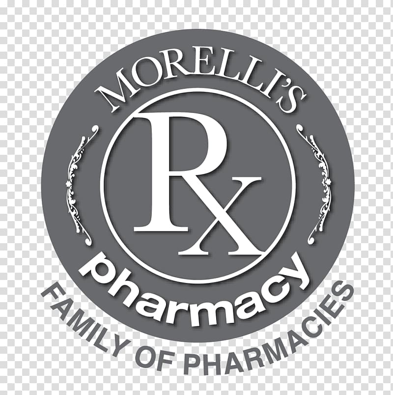 Morelli\\\'s Pharmacy Emblem Logo Brand Ontario, medication.