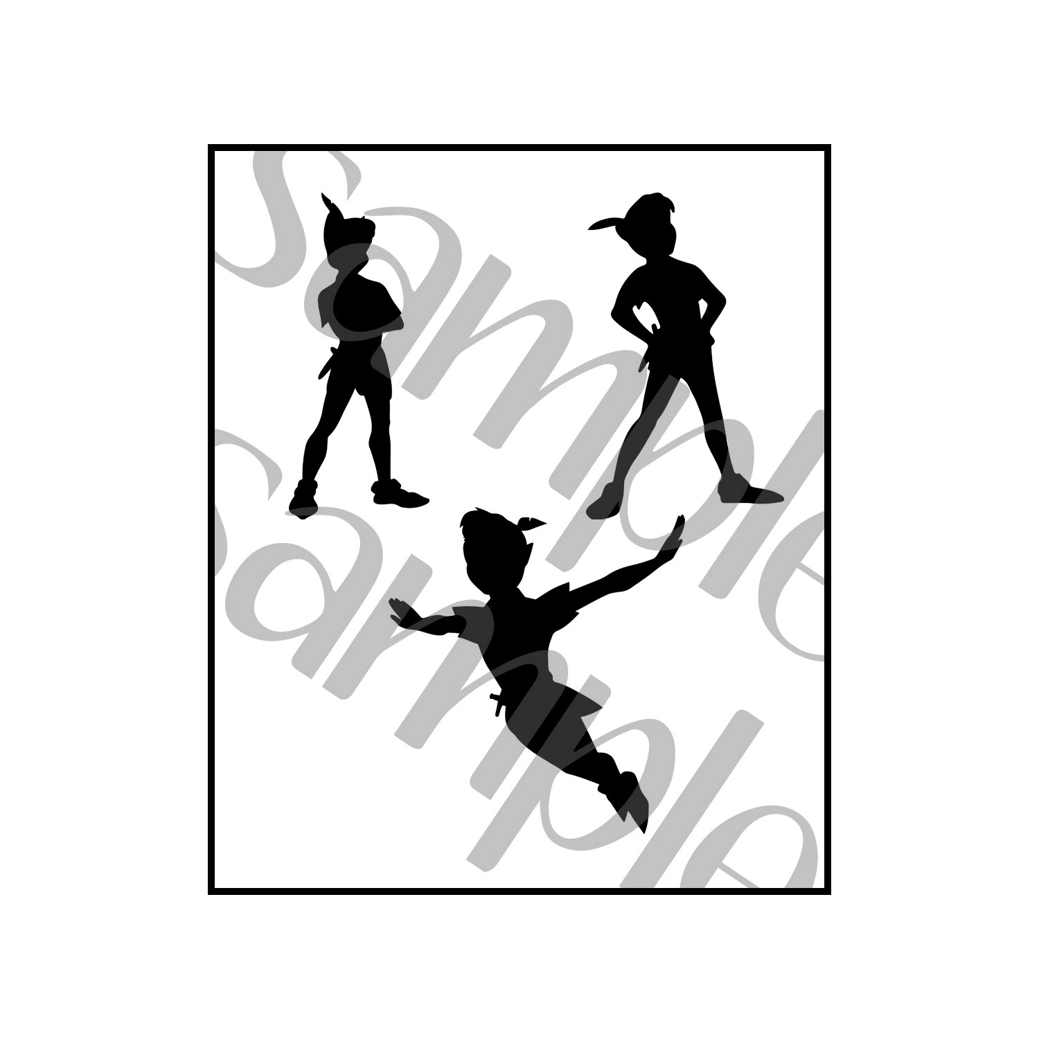 Peter pan clipart.