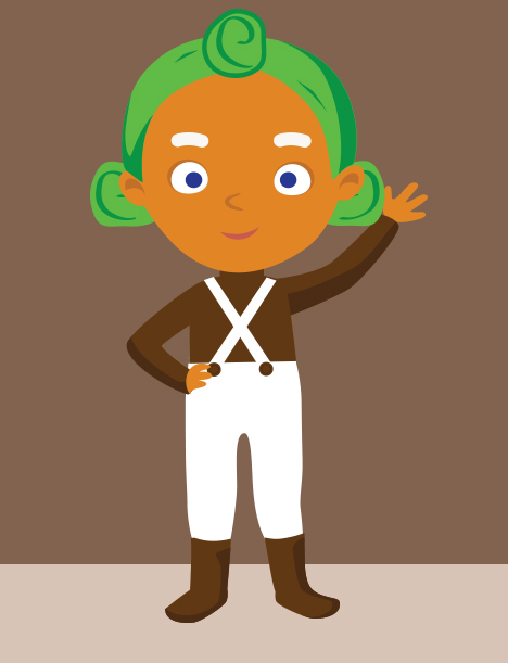 Oompa loompa clipart 8 » Clipart Station.