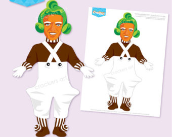Oompa loompa clipart 1 » Clipart Station.