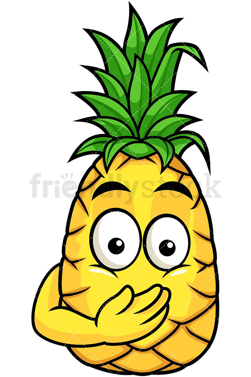 Pineapple Oops Expression.