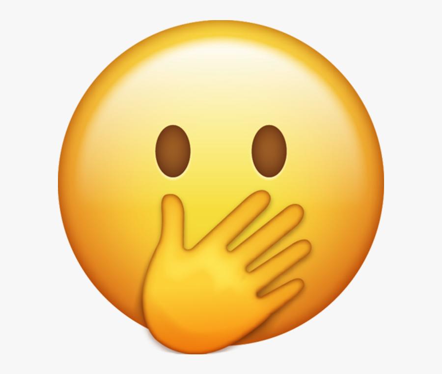 Oops Emoji Png , Free Transparent Clipart.