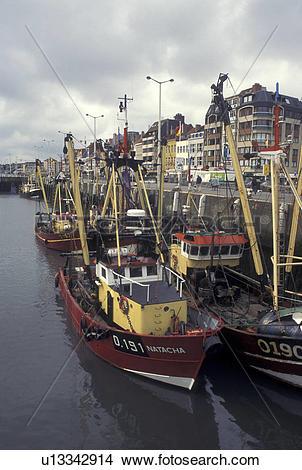 Stock Photo of Belgium, Oostende, West.