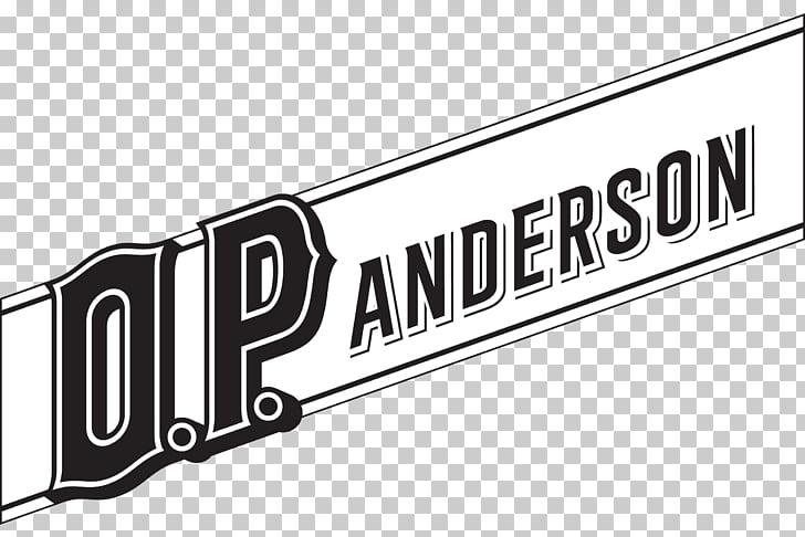 O.P. Anderson Akvavit Distilled beverage Logo Brand, top.
