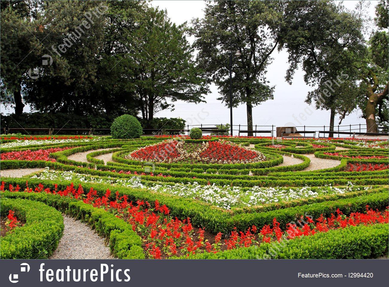 Opatija Flower Park Image.