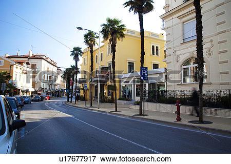Picture of Street in Opatija u17677917.