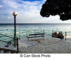 Stock Photography of Statue of Opatija.