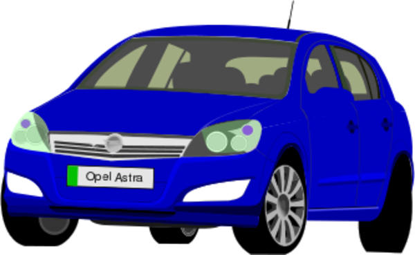 Opel astra clipart #11