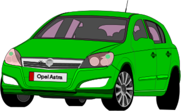Opel astra clipart #12