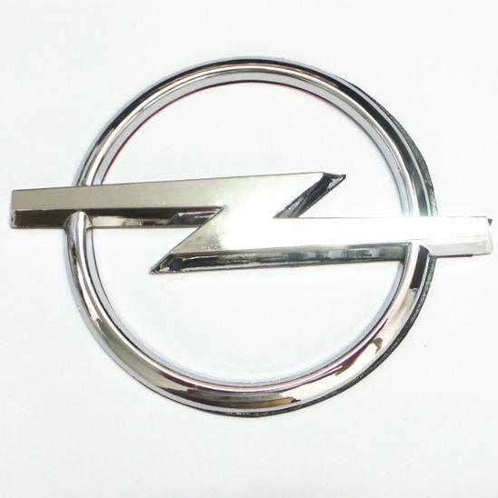 China Custom car logo ABS auto parts big emblem for Opel.